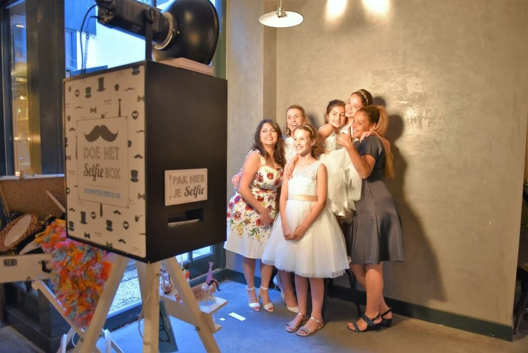 photobooth rental with guestbook