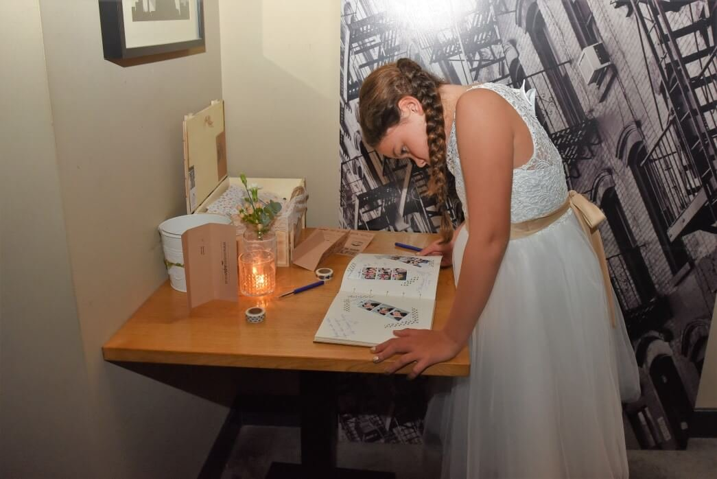 fotobooth with guestbook
