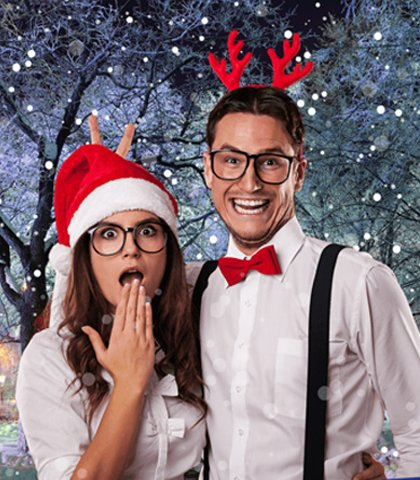 kerst greenscreen photobooth huren