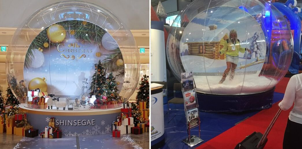 photobooth snowglobe rental