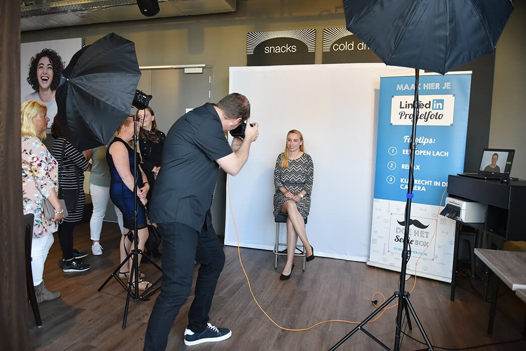 linkedin photographer event fotostudio
