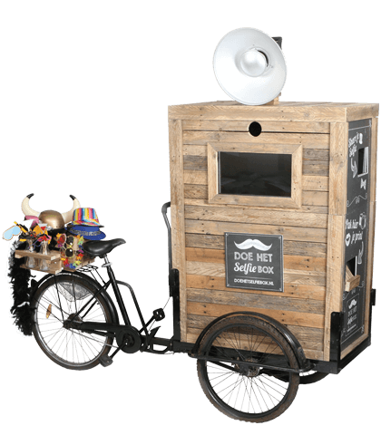 cargo bike photobooth